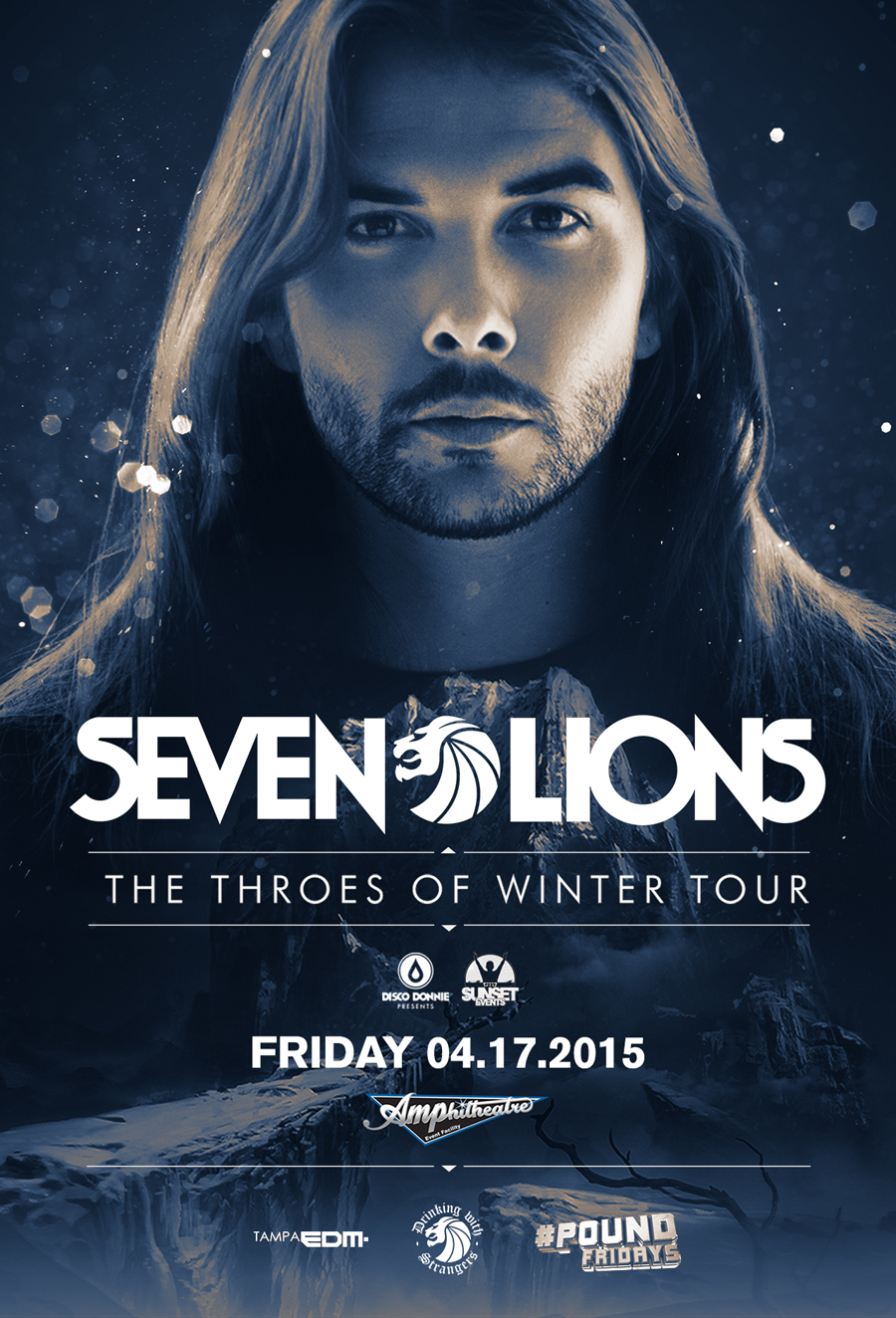 Seven Lions – The Throes of Winter Tour – Friday, April 17, 2015