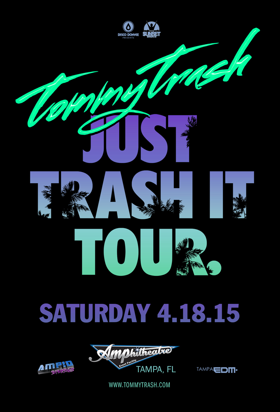 Tommy Trash – Just Trash It Tour at The AMP