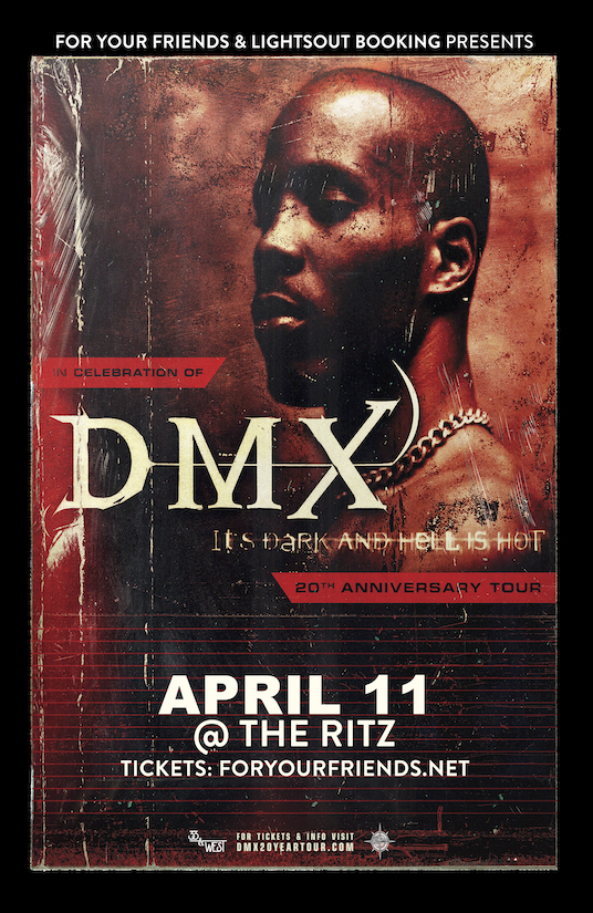 DMX – It's Dark and Hell is Hot 20th Anniversary Tour at The RITZ Ybor – 4/11/2019