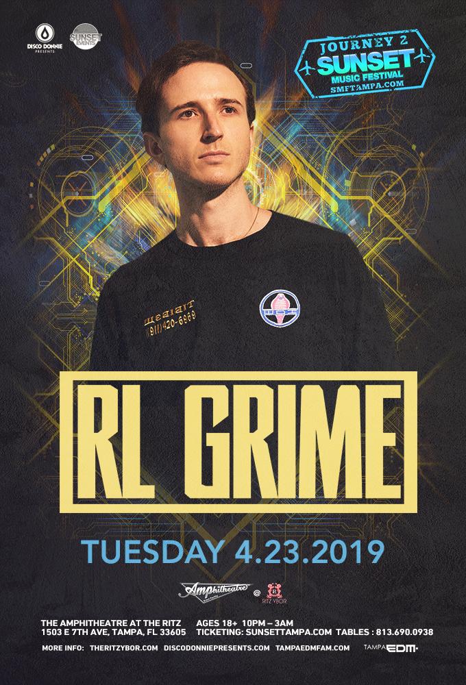RL GRIME – Journey 2 Sunset Music Festival at The RITZ Ybor – 4/23/2019