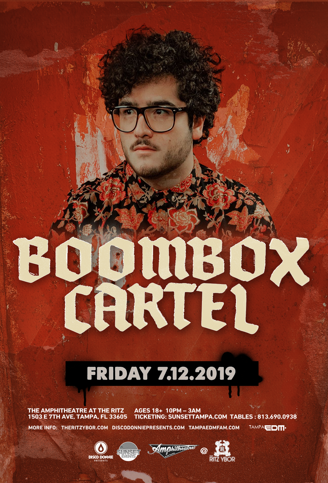 Boombox Cartel – #POUND Fridays at The RITZ Ybor – 7/12/2019