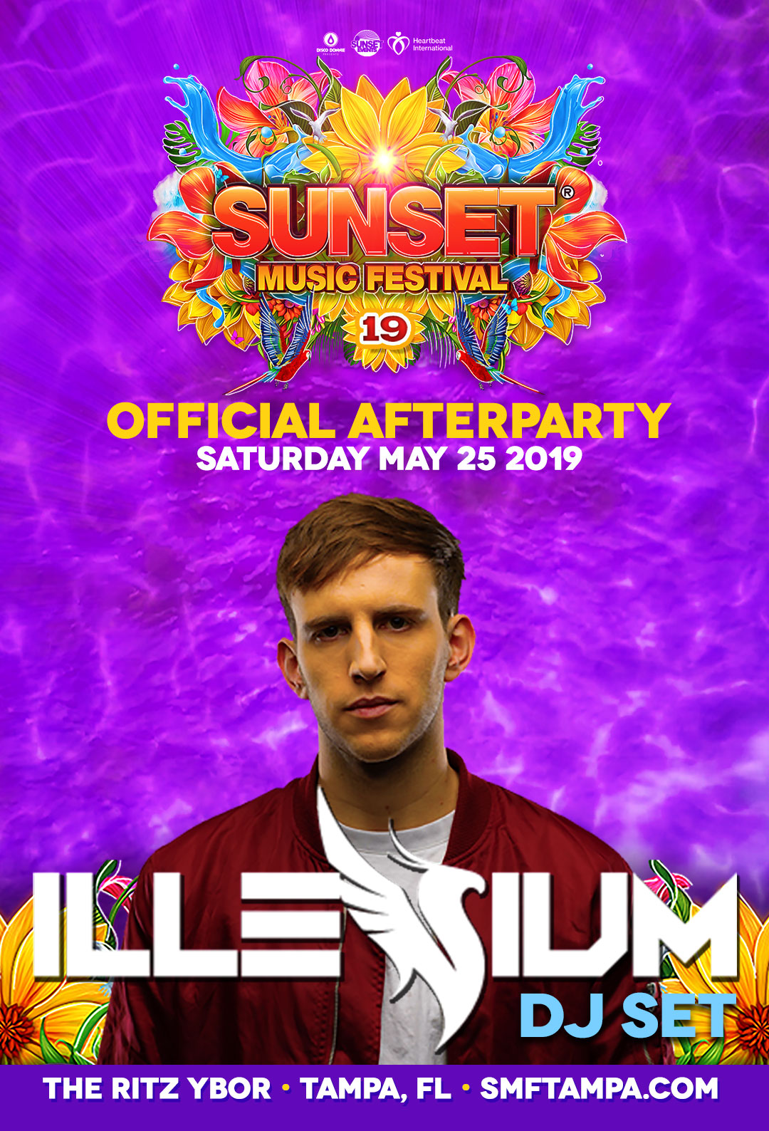 Official Sunset Music Festival Day 1 After Party with Illenium – 5/25/2019