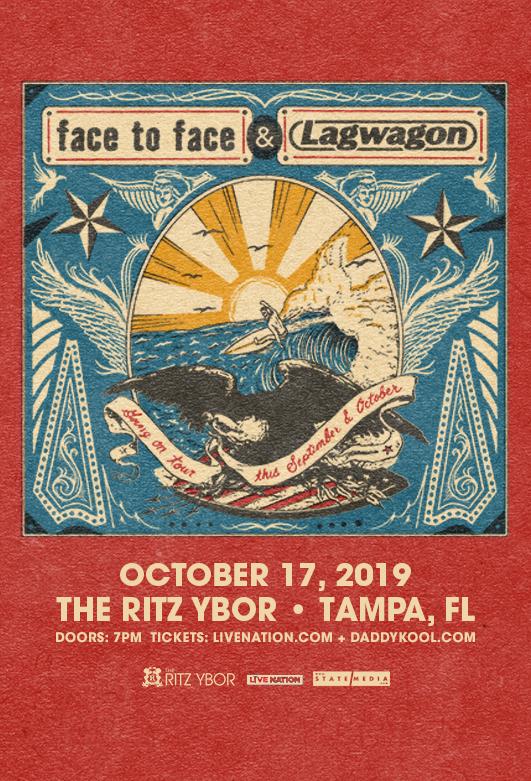Face to Face & Lagwagon at The RITZ Ybor – 10/17/2019
