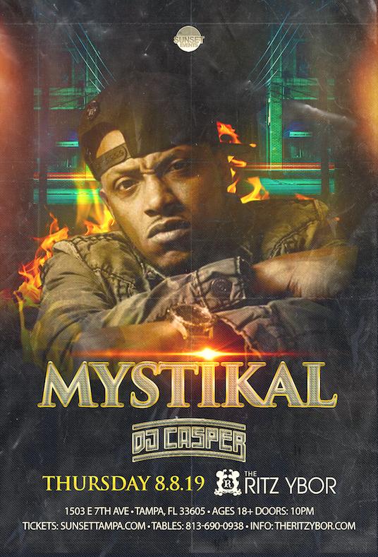 Mystikal – Throwback Thursday at The RITZ Ybor – 8/8/2019