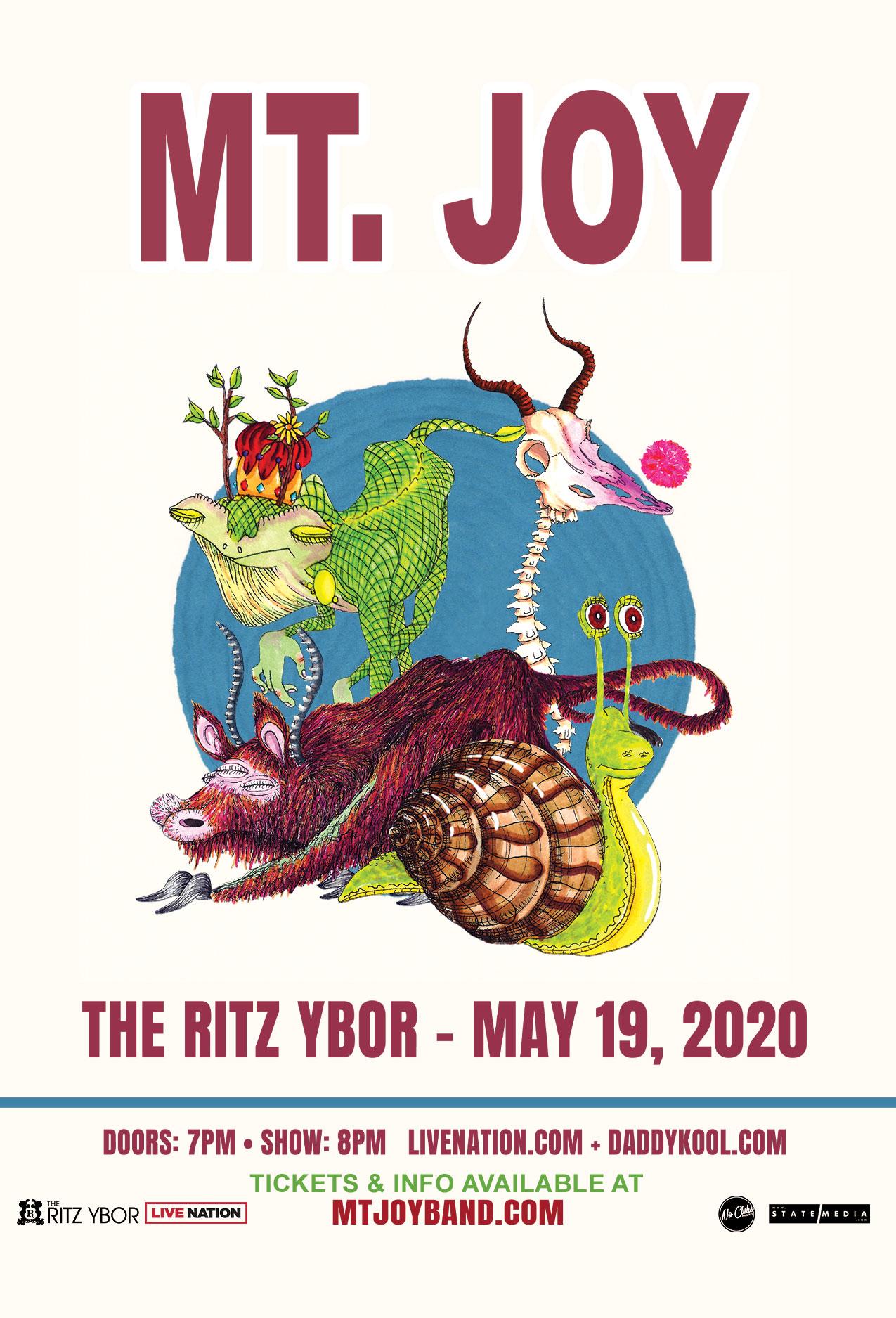 Mt. Joy at The RITZ Ybor – 5/19/2020