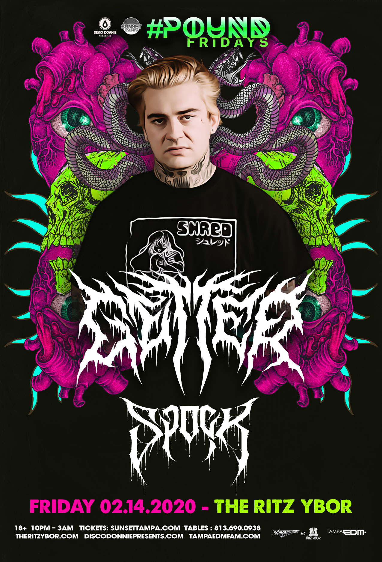 Getter – #POUND Fridays at The RITZ Ybor – 2/14/2020