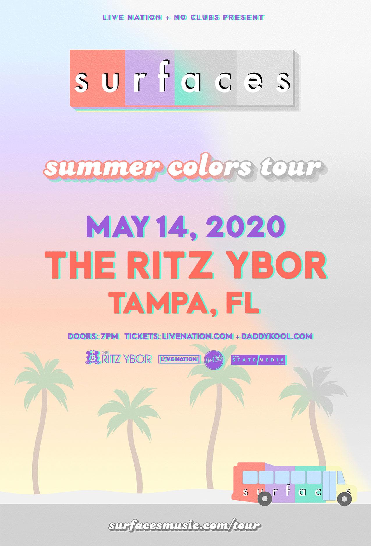 Surfaces at The RITZ Ybor – 5/14/2020