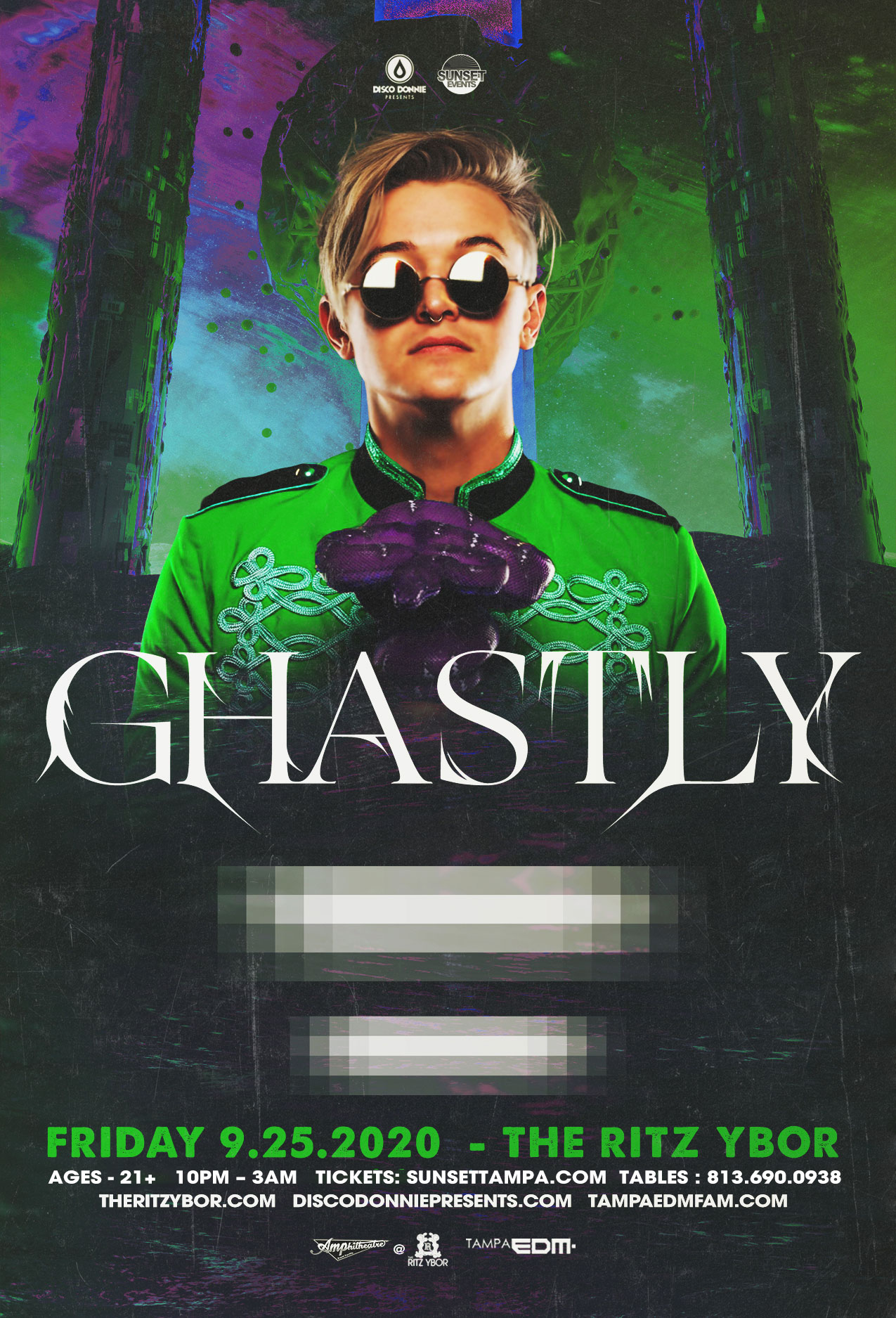 Ghastly – #POUND Fridays at The RITZ Ybor – 9/25/2020
