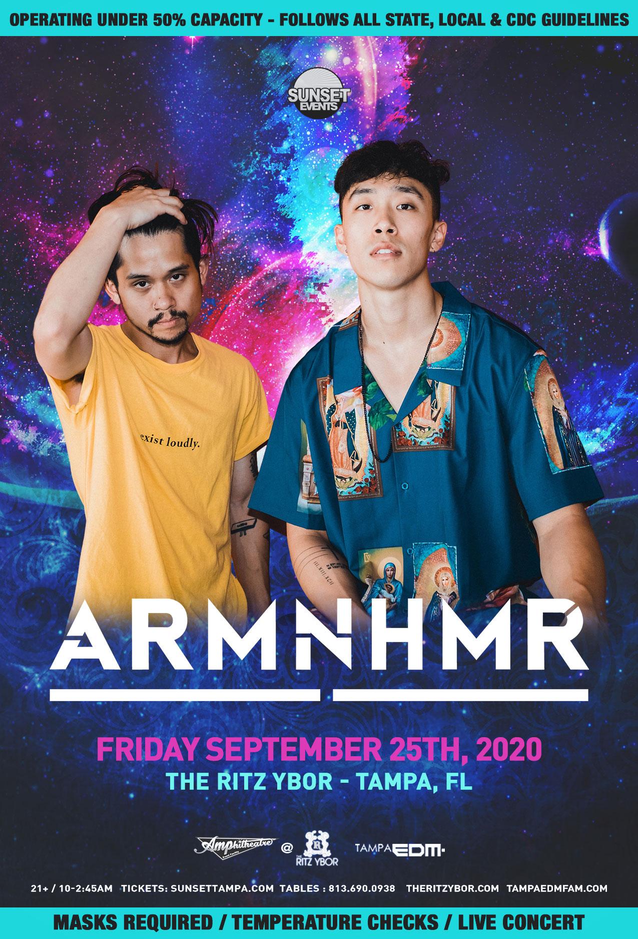 ARMNHMR for #POUND Fridays at The RITZ Ybor – 9/25/2020
