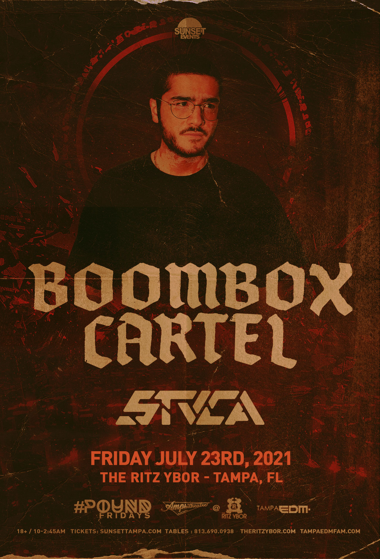 Boombox Cartel for #POUND Fridays at The RITZ Ybor – 7/23/2021